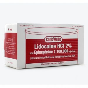 lidocaine-red